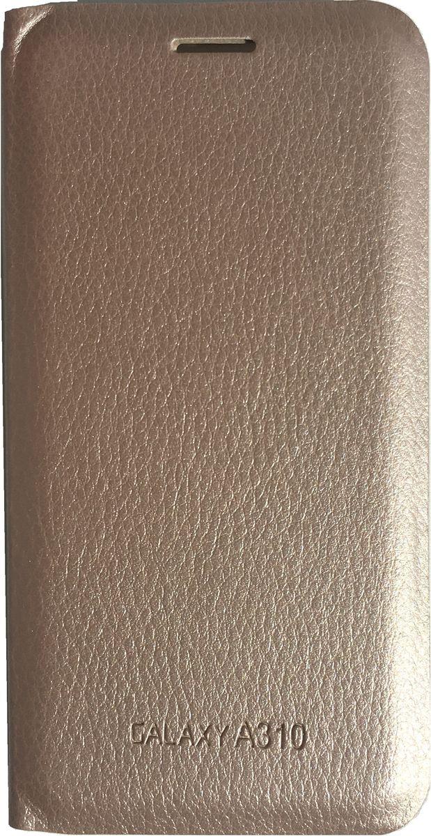 Acqua Wallet Extra чехол для Samsung Galaxy A3, Gold чехол для samsung galaxy j5 2016 sm j510fn acqua wallet extra черный