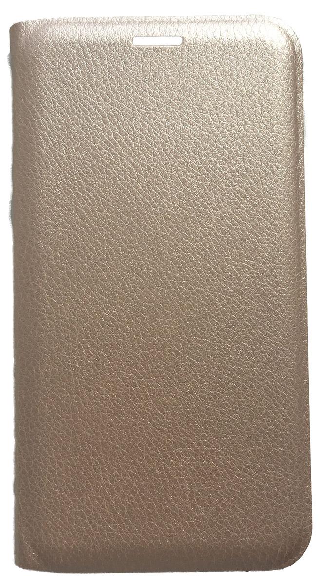 Acqua Wallet Extra чехол для Samsung Galaxy A7, Gold53925Чехол-книжка Acqua Wallet Extra для Samsung Galaxy A7 создан из высококачественных материалов. На внутренней стороне чехла имеется карман для пластиковых карт. Чехол надежно защитит ваш телефон от царапин, сколов и незначительных механических повреждений. Он также обеспечивает свободный доступ ко всем функциональным кнопкам смартфона и камере.