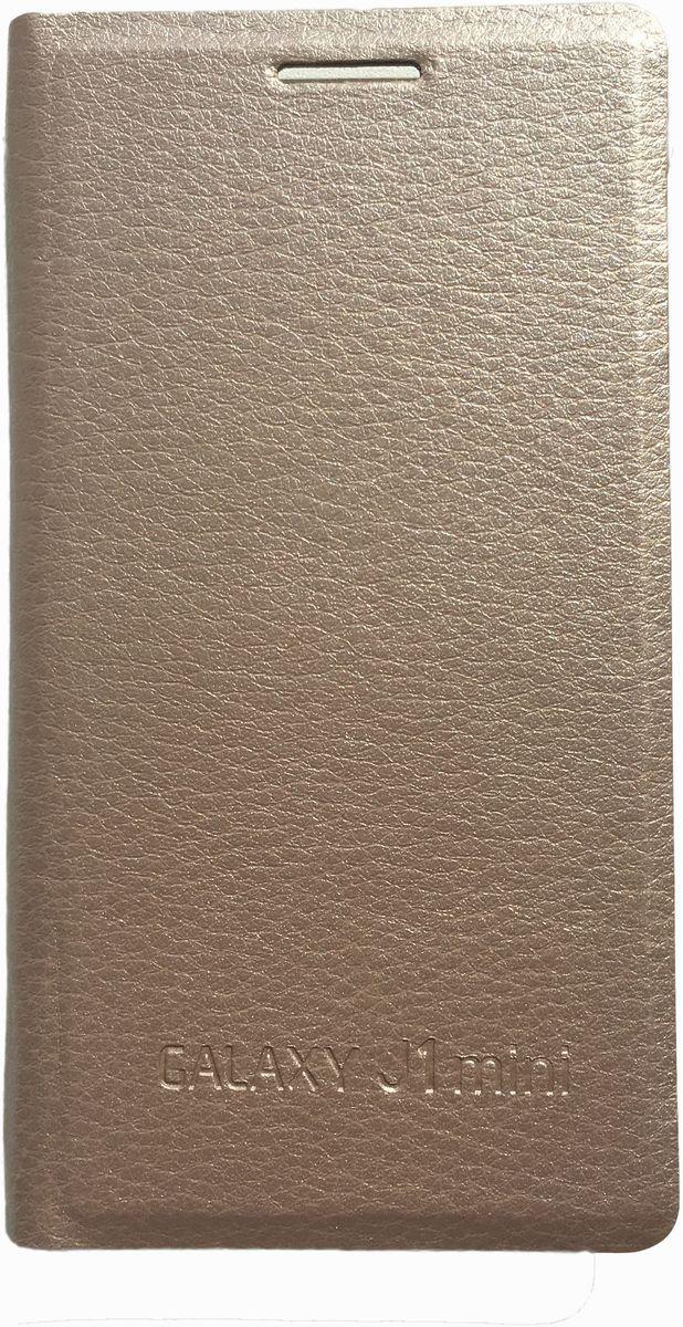 Acqua Wallet Extra чехол для Samsung Galaxy J1 mini, Gold чехол для samsung galaxy j5 2016 sm j510fn acqua wallet extra черный