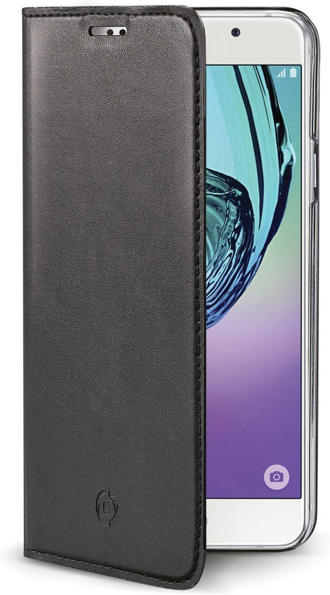 Celly Air Case чехол для Samsung Galaxy A5, BlackAIR535BKЧехол-книжка Celly Air Case для Samsung Galaxy A5 выполнен из высококачественных материалов и практически не увеличивает размер устройства. А благодаря его удобной конструкции все функциональные кнопки и разъемы остаются свободными. Чехол надежно защитит ваш аппарат от царапин и сколов, механических повреждений, а также позволит хранить кредитные карты или визитки в специально отведенном кармашке. Крышка может использоваться как подставка под устройство, для удобного просмотра видео.