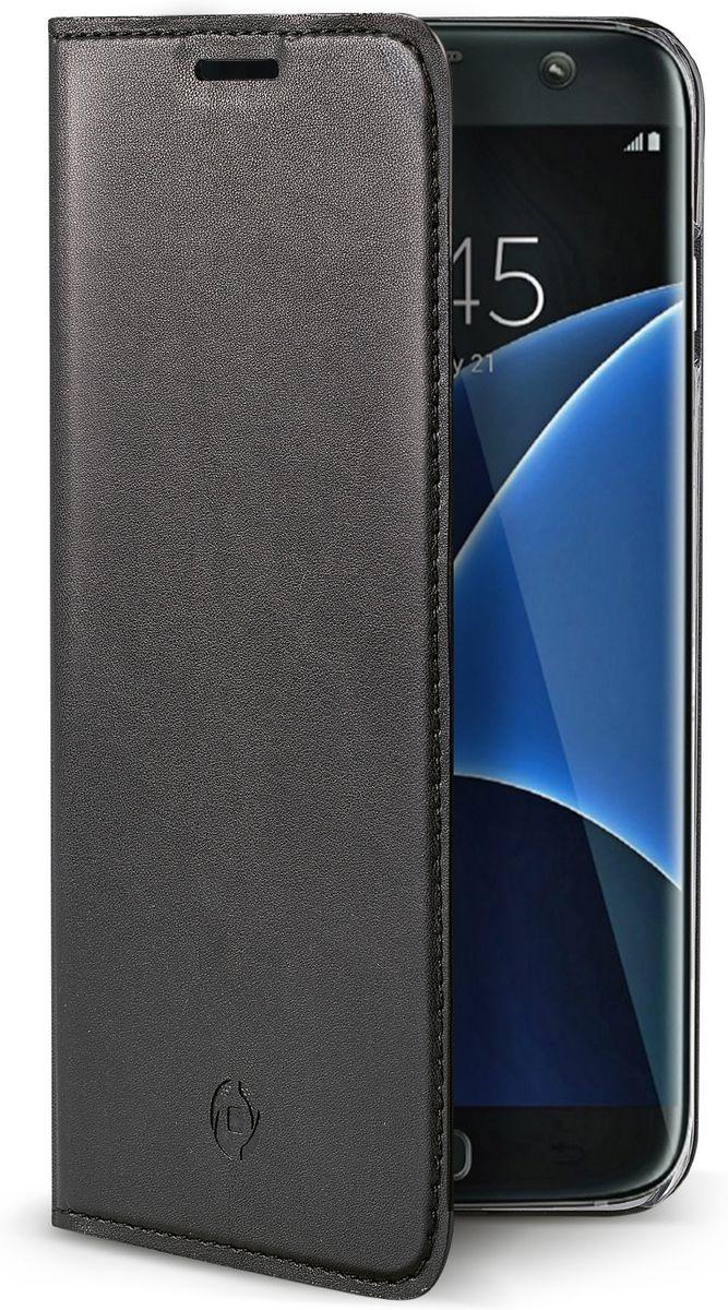 Celly Air Case чехол для Samsung Galaxy S7 Edge, BlackAIR591BKЧехол-книжка Celly Air Case для Samsung Galaxy S7 Edge выполнен из высококачественных материалов и практически не увеличивает размер устройства. А благодаря его удобной конструкции все функциональные кнопки и разъемы остаются свободными. Чехол надежно защитит ваш аппарат от царапин и сколов, механических повреждений, а также позволит хранить кредитные карты или визитки в специально отведенном кармашке. Крышка может использоваться как подставка под устройство для удобного просмотра видео.