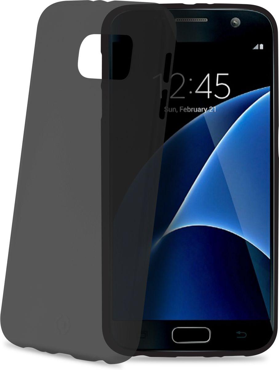Celly Frost чехол для Samsung Galaxy S7, GreyFROSTGS7BKМаксимальная защита с минимальной толщиной. Мягкий и тонкий чехол Celly Frost для Samsung Galaxy S7 идеально защитит смартфон от ударов, падений и царапин. Благодаря толщине 0,3 мм он практически не увеличивает размер вашего телефона.