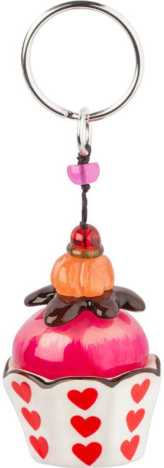 Брелок Lalo Treasures, цвет: белый, розовый. KR4970KR4970Брелок Lalo Treasures изготовлен из ювелирной смолы ярких цветов. Он выполнен в виде пирожного и крепится к кольцу с помощью крепкого шнурка. Оригинальный брелок подчеркнет вашу индивидуальность, а также станет отличным подарком для любительниц модных новинок в мире аксессуаров.