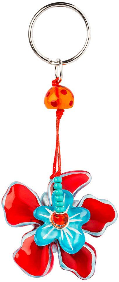 Брелок Lalo Treasures. KR4984KR4984Яркие дизайнерские акссесуары от Lalo Treasures станут отличным дополнением к Вашему стилю Ширина - 7 см, длина - 5,5 см