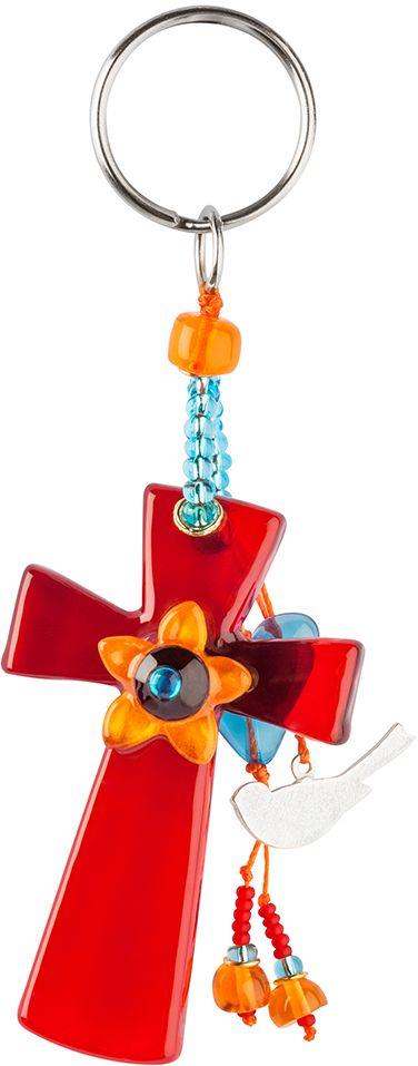 Брелок Lalo Treasures. KR4996KR4996Яркие дизайнерские акссесуары от Lalo Treasures станут отличным дополнением к Вашему стилю Ширина - 10 см, длина - 4,5 см