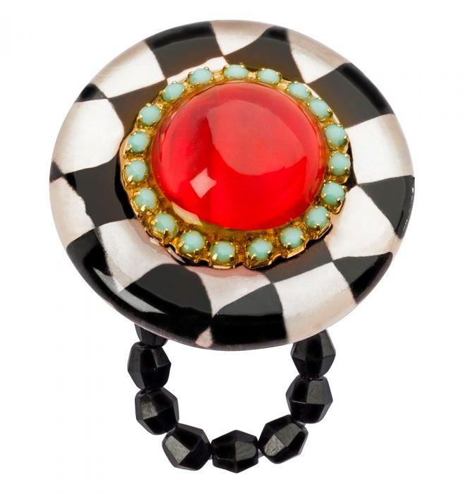 Кольцо Lalo Treasures G&G. R6988mR6988mЯркие дизайнерские акссесуары от Lalo Treasures станут отличным дополнением к Вашему стилю Диаметр - 3 см, высота - 3 см, размер М (18-20.5мм)