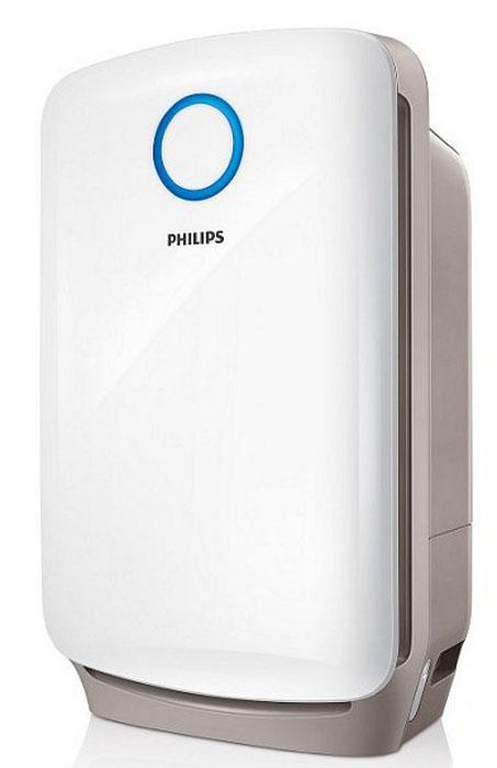 Philips AC4080/10 климатический комплексAC4080/10Профессиональная 3-уровневая система фильтрации и увлажняющий фильтр: 1. Фильтр предварительной очистки: улавливает крупные загрязняющие частицы, такие как волосы, шерсть животных, пух, пыль. 2. Комбинированный HEPA- и угольный фильтр, созданный на основе немецкой технологии, улавливает мельчайшие загрязняющие частицы и нейтрализует неприятные запахи и вредные газы, такие как формальдегид 3. Увлажняющий фильтр. Увлажнение происходит по технологии холодного испарения NanoCloud. 4 режима работы: Включая автоматический и ночной. Во время работы прибора в автоматическом режиме гигрометр и датчик качества воздуха постоянно контролируют влажность и чистоту воздуха и включают/отключают прибор/ меняют режим работы по необходимости, обеспечивая постоянное поддержание чистоты и влажности на нужном уровне. При включенном ночном режиме прибор продолжает работать при погасших индикаторах и на пониженной мощности. Точные настройки уровня...