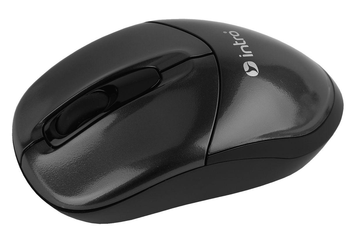 Intro MW490 Wireless, Black беспроводная мышь