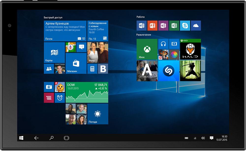 Irbis TW46TW46Мощный, производительный планшетный компьютер Irbis TW46 с четырехъядерным процессором Intel. Операционная система Windows 10 обеспечит комфорт и удобство работы с устройством. Четырехъядерный процессор Intel Atom Z3735F и 2 ГБ оперативной памяти обеспечивают плавную работу операционной системы и быстрый запуск даже тяжелых приложений. Вы можете открывать в браузере большое количество вкладок, а также сворачивать приложения и игры без их последующего перезапуска во время повторного открытия. Дисплей планшета имеет диагональ 10,1 дюйм и разрешение 1280 x 800 точек. Яркая IPS-матрица обеспечивает большие углы обзора и качественную цветопередачу. Не будут уставать глаза и при долгой работе с документами, так что аппарат можно рекомендовать студенту или школьнику, не опасаясь за его зрение. Объем встроенной памяти составляет 32 ГБ, с помощью карты памяти его можно увеличить еще на 32 ГБ - достойный показатель для мобильного устройства....