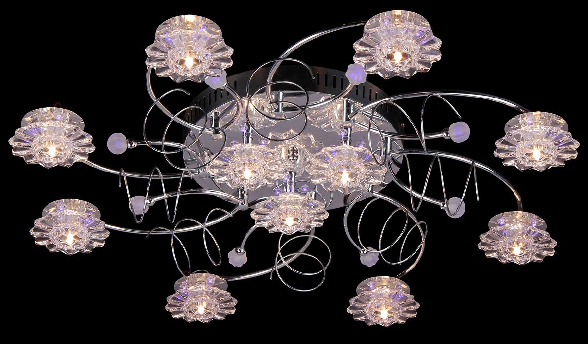 Люстра Natali Kovaltseva 10300/11C Chrome10300/11C CHROMEВ коллекциях NATALI KOVALTSEVA представлены разные стили – от классики до хайтека. Дизайн и технологическая составляющая продукции разрабатывается в R&D центре компании, который находится в г. Дюссельдорф, Германия. При производстве нашей продукции используются высококачественные и эксклюзивные материалы: хрусталь ASFOR, муранское стекло, перламутр, 24-каратное золото, бронза. Производство светильников соответствует стандарту системы менеджмента качества ISO 9001-2000. На всю продукцию ТМ Natali Kovaltseva распространяется гарантия.