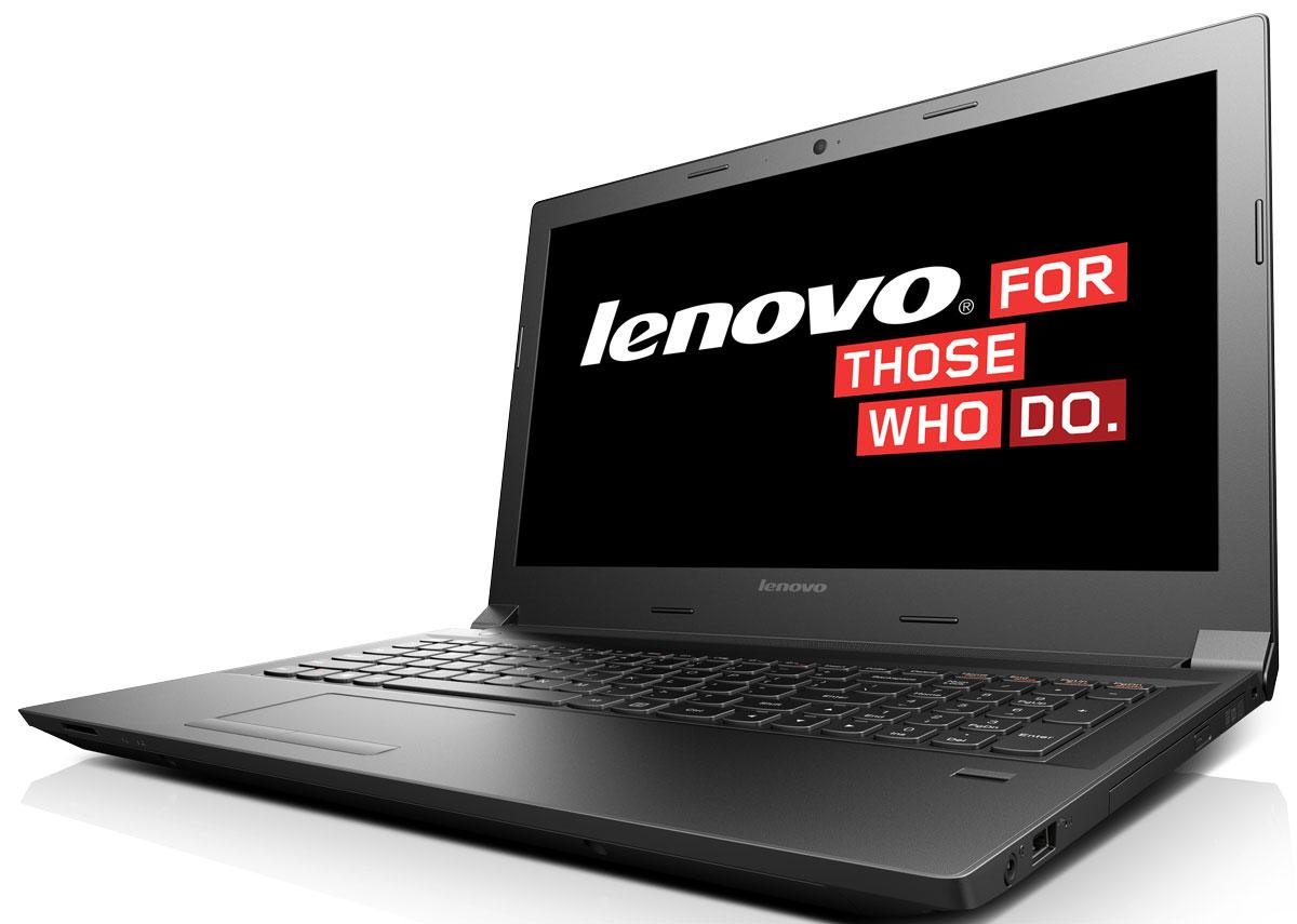 Lenovo IdeaPad B50-80, Black (80EW05LDRK)80EW05LDRKLenovo IdeaPad B50-80 - это доступный и многофункциональный ноутбук c процессором от Intel. 15,6-дюймовый широкоформатный дисплей стандарта HD с соотношением сторон 16:9 и разрешением 1366 х 768 обеспечивает четкость и яркость изображения. Поддержка USB 3.0 SuperSpeed позволяет устройству обмениваться данными с другими устройствами со скоростью, которая в 10 раз превышает скорость интерфейсов USB более ранних версий. Выход HDMI обеспечивает простое подключение к телевизору или широкоформатному монитору с высоким разрешением. С помощью модулей связи Wi-Fi 802.11 b/g/n и Bluetooth 4.0 вы сможете отовсюду с легкостью выходить в Интернет. Эргономичная клавиатура AccuType островного типа обеспечивает комфортный и точный набор с меньшим количеством ошибок. Встроенная веб-камера (720p) позволяет проводить веб-конференции и общаться в онлайн- чатах даже в условиях низкой освещенности. Модели с пишущим DVD-приводом позволяют смотреть любимые фильмы и...