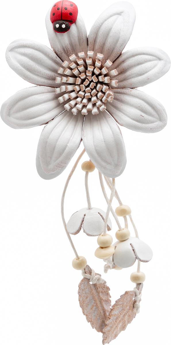 Брошь Белый цветок с божьей коровкой. Натуральная кожа, ручная работа. Гонконгpokka-3516-2-1Брошь Белый цветок с божьей коровкой. Натуральная кожа, ручная работа. Гонконг. Размер - 14 х 6,5 см. Тип крепления - булавка с застежкой.