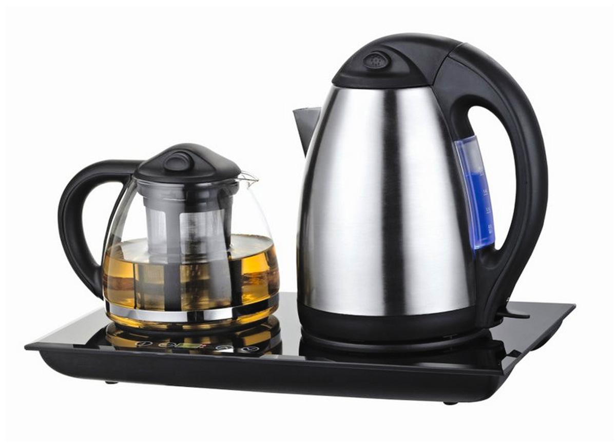 Unit UEK-232, BlackUEK-232Функциональность - быстро вскипятив воду, Вы сможете без труда заварить ароматный чай, желаемой крепости Функция подогрева - для большего аромата и улучшения вкусовых качеств чай можно подогревать перед каждым чаепитием Комфорт - набор идеален для безупречной сервировки Вашего чаепития
