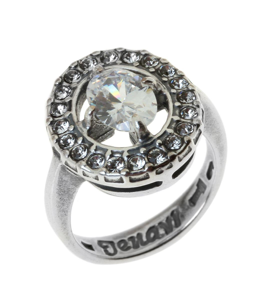Jenavi, Коллекция Эллада (кольца), Югера (Кольцо), цвет - серебристый, белый, размер - 16. j68530a0j68530a0Коллекция Эллада (кольца), Югера (Кольцо) гипоаллергенный ювелирный сплав,Черненое серебро, вставка Фианит , цвет - серебро, белый, размер - 16