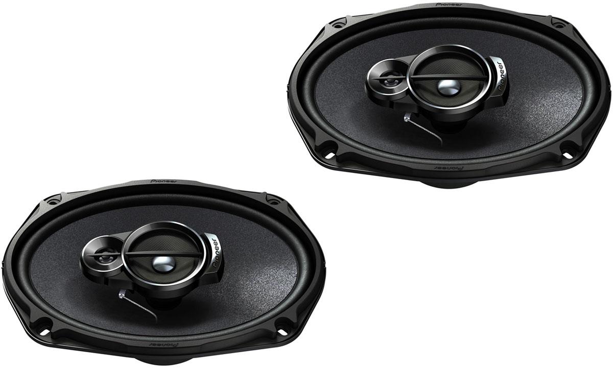 Pioneer TS-A6933I автомобильная акустическая система1024311Автомобильная акустическая система Pioneer TS-A6933I способна воспроизводить звук любой частоты и громкости без малейших помех. Она имеет большую мощность и оснащена динамиками с оптимизированной формой излучателей. Колонки созданы с применением трёхполосной компоновки. Она позволяет сделать максимально чёткими звуки высокой, низкой и средней частоты. Излучатели произведены из многослойного композитного материала Mica Matrix, армированного слюдяными волокнами. За счёт этого удаётся избежать резонанса, а также значительно уменьшить количество помех, вызванных вибрациями и сильными колебаниями. Размер ВЧ динамика: 11 мм Размер СЧ динамика: 57 мм Количество полос: 3 Материал излучателей: Mica Matrix
