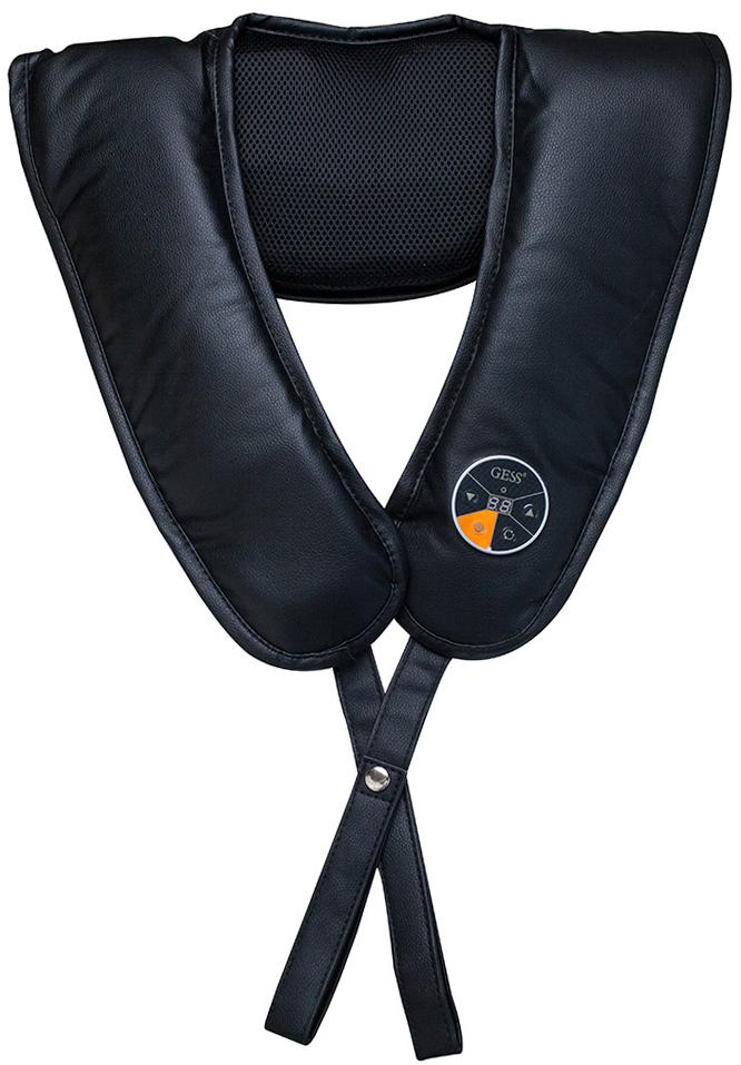 Gess Tap Pro ударнокулачковый массажер. GESS-157GESS-157Ударно-кулачковый массажер; Массажные ролики имитируют постукивающий кулачковый массаж, способствующий снятию напряжения с мышц, увеличению эластичности тканей и улучшению общего самочувствия. Имитация профессионального тайского массажа; 39 автоматических программ массажа; 12 уровней интенсивности; Автоматический таймер отключения 15 мин;