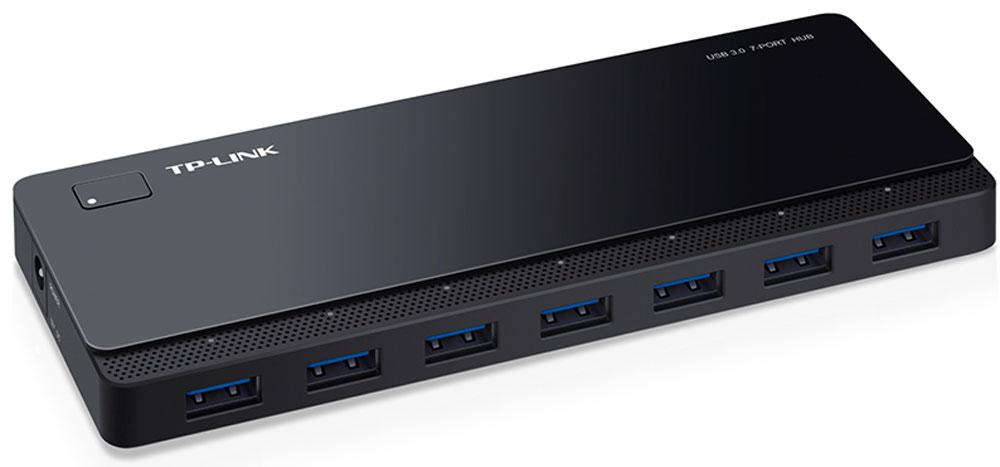 TP-Link UH700 7-портовый USB-концентраторUH7007-портовый концентратор TP-Link UH700 поддерживает все USB-устройства, включая USB-накопители, мыши, принтеры и прочие устройства, которые вы хотите использовать одновременно. Порты USB 3.0 обеспечат скорость передачи данных до 5 Гбит/с, что в 10 раз быстрее, чем по USB 2.0. UH700 добавляет 7 дополнительных портов USB к вашему компьютеру, устраняя необходимость переключения устройств. Множественные функции защиты уберегут ваши устройства от возможных повреждений при передаче данных.