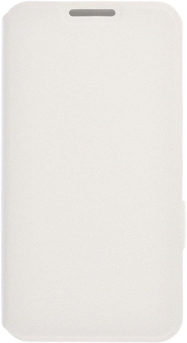Prime Book чехол-книжка для LG K7, White2000000085982Чехол Prime Book для LG K7 выполнен из высококачественного поликарбоната и экокожи. Он гарантирует надежную защиту корпуса и экрана смартфона и надолго сохраняет его привлекательный внешний вид. Чехол также обеспечивает свободный доступ ко всем разъемам и клавишам устройства.