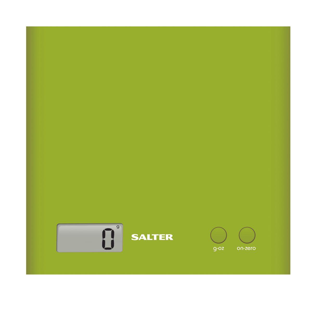 Salter 1066 GNDR кухонные весы1066 GNDRЭлектронные кухонные весы Salter 1066 GNDR. Функция - добавь и взвешивай - позволяет взвешивать различные ингредиенты в одной емкости. Режим переключения между метрической и имперской системой измерения. Компактный, тонкий и современный дизайн.