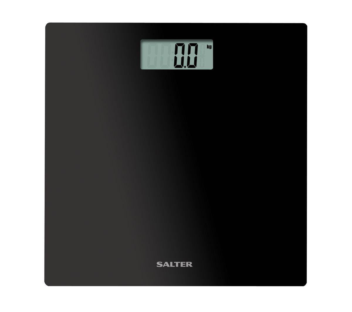 Salter 9069 BK3R напольные весы9069 BK3RНапольные весы стильного дизайна, свертонкая стеклянная платформа. Компактная конструкция для легкого хранения. Функция включения весов при прикосновении. Легко читаемый широкий дисплей. Максимальный вес измерения 180 кг. ЧЕРНЫЙ ЦВЕТ