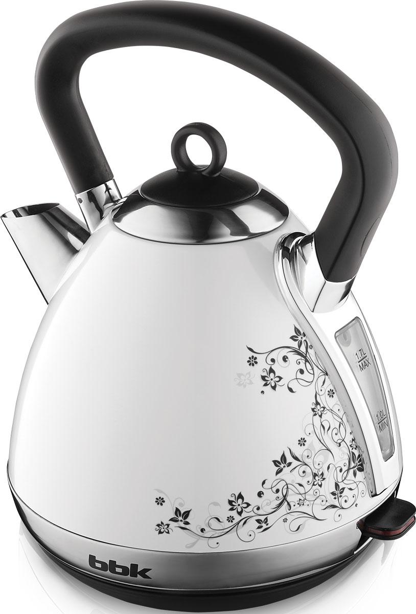 BBK EK1710S, White Black электрический чайник