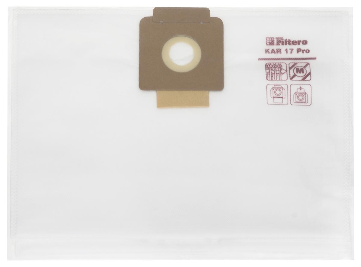 Filtero KAR 17 Pro комплект пылесборников для промышленных пылесосов, 5 шт