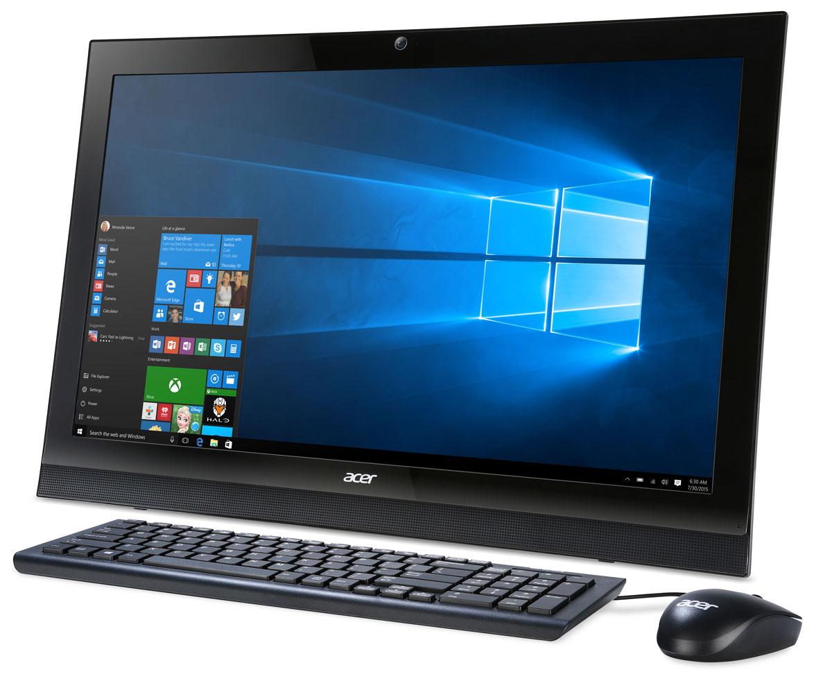 Acer Aspire Z1-622, Black моноблок (DQ.B5FER.002)