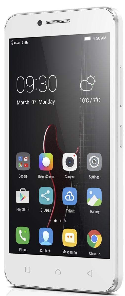 Lenovo Vibe C (A2020a40), WhitePA300021RUНепревзойденная скорость сетей 4G LTE. Стабильная работа с четырехъядерным процессором. И яркий пятидюймовый дисплей. С такими характеристиками Lenovo Vibe C отлично подойдет тем, кто ищет широкие мультимедийные возможности по доступной цене. Смартфон также оснащен съемным аккумулятором. Когда твой аккумулятор сядет, просто вставь запасной с полным зарядом и продолжай заниматься своими делами. Неважно, смотришь ли ты фильм в поездке или общаешься с друзьями в сети - пятидюймовый экран обеспечивает высокую четкость изображения в любой ситуации. Lenovo Vibe C удобно лежит в руке и легко помещается в кармане. Lenovo Vibe C поддерживает множество различных средств коммуникации - Bluetooth, Wi-Fi, GPS, а также сети LTE (4G), благодаря чему обеспечивается высокая скорость передачи данных. Ты сможешь скачивать файлы со скоростью до 150 Мбит/с, а загружать - со скоростью до 50 Мбит/с. В результате этого ты получаешь мгновенный доступ в мир онлайн. ...