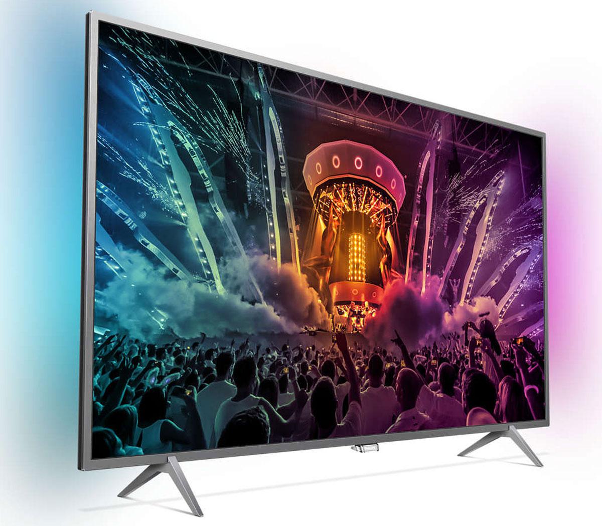 Philips 43PUS6401, Silver телевизор