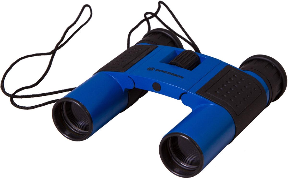 Bresser Topas 10x25, Blue бинокль8911027WXH000Компактный бинокль Bresser Topas 10x25 для туристов, путешественников и натуралистов. Это гармоничное сочетание удобства использования, надежности конструкции и высоких оптических характеристик. Лучше всего этот миниатюрный бинокль проявит себя при дневных наблюдениях: изучении птиц, просмотре спортивных мероприятий, исследовании дикой природы. Благодаря металлическому корпусу он переживет любые дорожные потрясения. Бинокль Bresser Topas 10x25 обеспечит получение качественной и высококонтрастной картинки, правильно передаст цвета и позволит рассмотреть удаленные предметы в мельчайших деталях. Все оптические элементы изготовлены из стекла, а внешние линзы имеют полное просветление. Чтобы сделать картинку максимально четкой, вы можете откорректировать диоптрии окуляров и точно настроить фокус. Можно отрегулировать межзрачковое расстояние, просто переместив оптические трубы. Боковые части бинокля имеют резиновые покрытие для удобства и надежности захвата.
