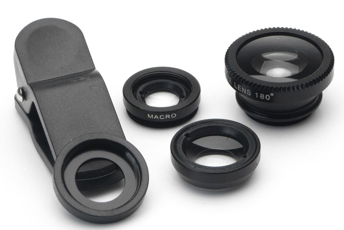Harper UCL-003, Black набор объективов 3 в 1