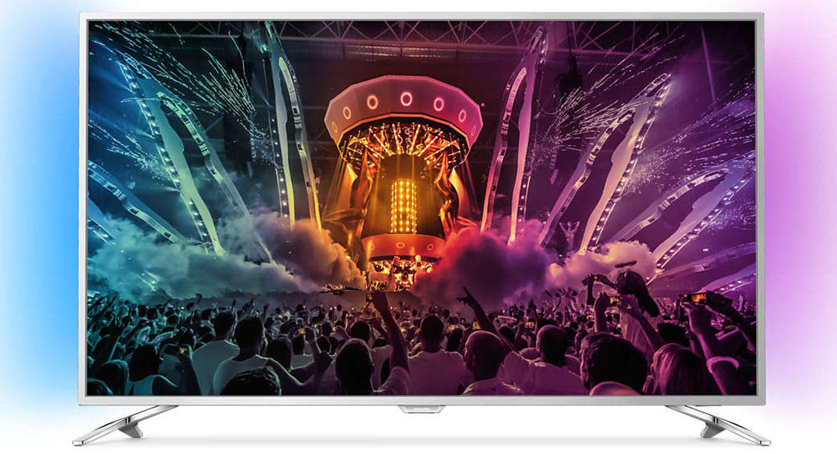 Philips 43PUS6501, Silver телевизор