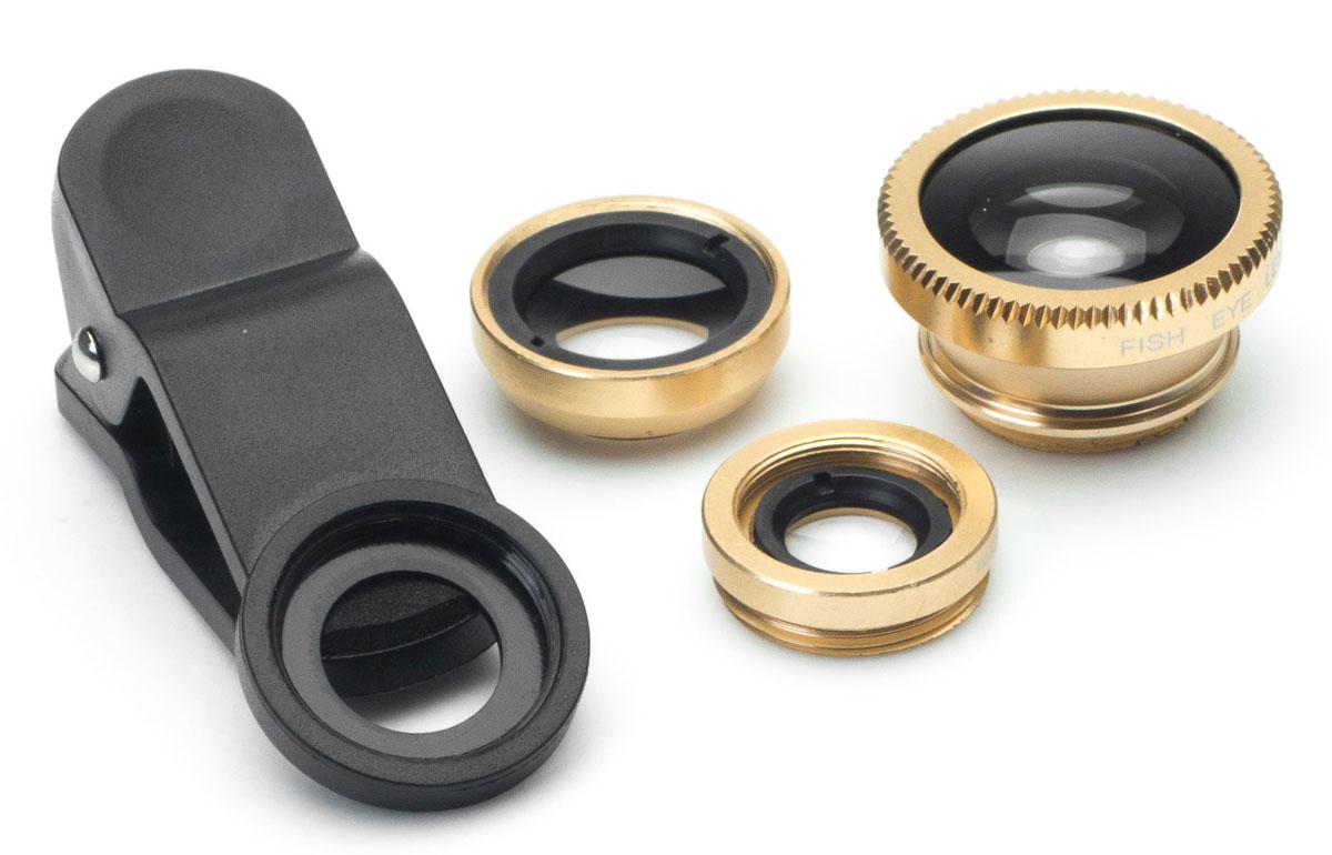 Harper UCL-003, Gold набор объективов 3 в 1