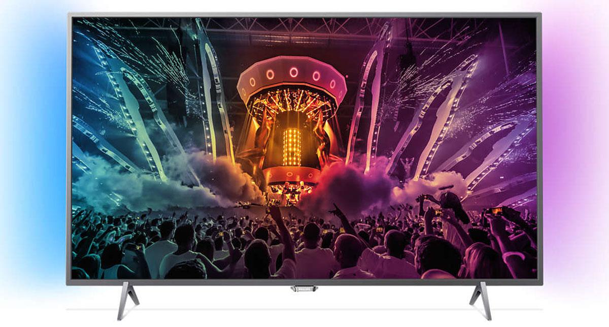 Philips 49PUS6401, Silver телевизор