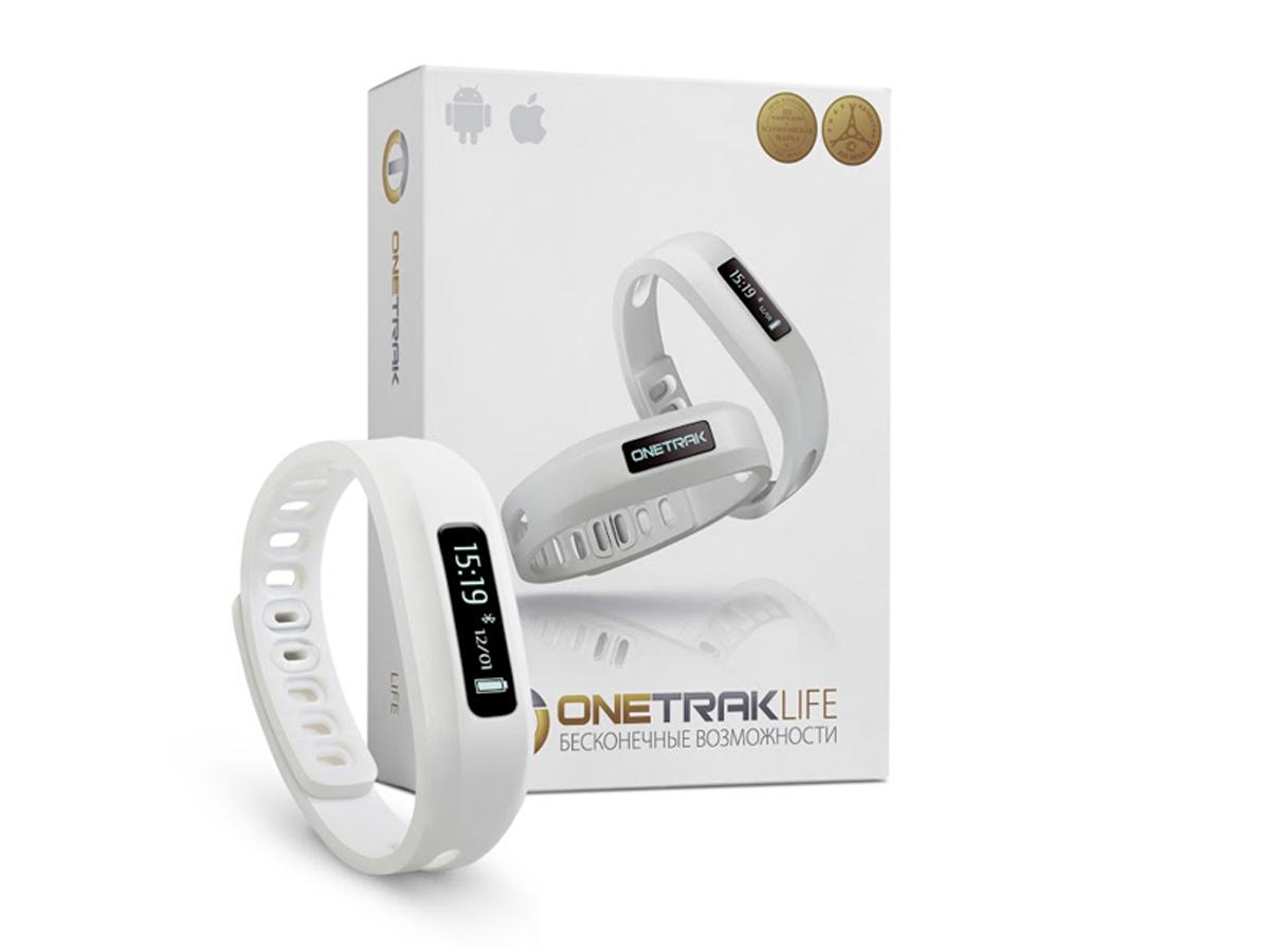 Onetrak Life, White фитнес-трекер