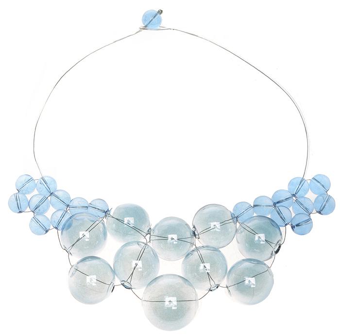 Колье Голубые грозди. Муранское стекло, каучук, ручная работа. Murano, Италия (Венеция)f682u590Колье Голубые грозди. Муранское стекло, каучук, ручная работа. Murano, Италия (Венеция). Размер: полная длина 43 см. Каждое изделие из муранского стекла уникально и может незначительно отличаться от того, что вы видите на фотографии.
