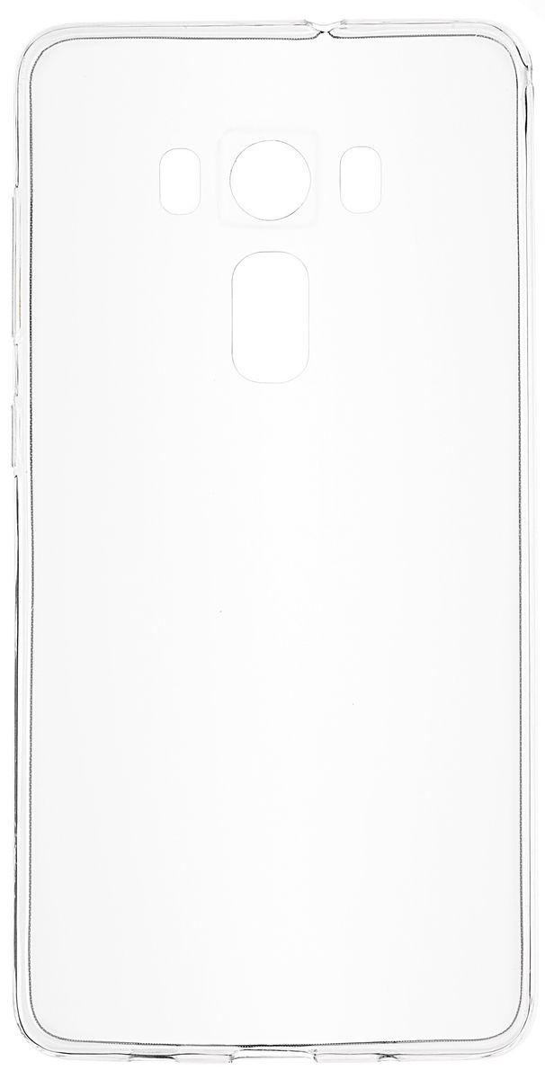 Skinbox Slim Silicone чехол для Asus Zenfone 3 ZS570KL, Transparent