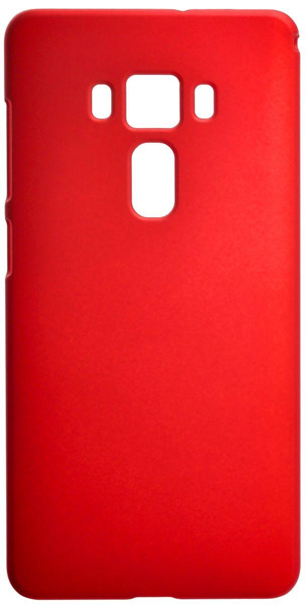 Skinbox Shield 4People чехол для Asus Zenfone 3 ZS570KL, Red2000000097329Чехол Skinbox Shield 4People для Asus Zenfone 3 ZS570KL надежно защищает ваш смартфон от внешних воздействий, грязи, пыли, брызг. Он также поможет при ударах и падениях, не позволив образоваться на корпусе царапинам и потертостям. Чехол обеспечивает свободный доступ ко всем функциональным кнопкам смартфона и камере.