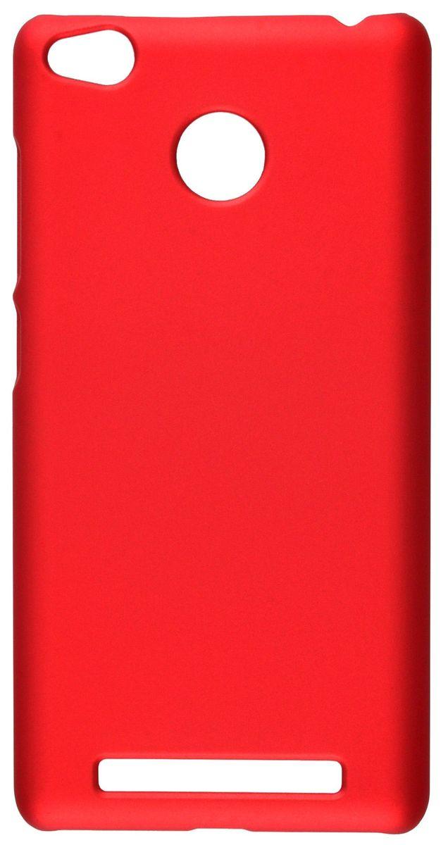Skinbox Shield 4People чехол для Xiaomi Redmi 3s/3 Pro, Red2000000096636Чехол Skinbox Shield 4People для Xiaomi Redmi 3s/3 Pro надежно защищает ваш смартфон от внешних воздействий, грязи, пыли, брызг. Он также поможет при ударах и падениях, не позволив образоваться на корпусе царапинам и потертостям. Чехол обеспечивает свободный доступ ко всем функциональным кнопкам смартфона и камере.