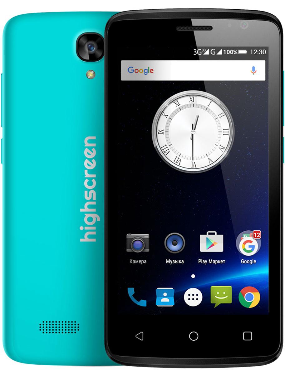 Highscreen Easy F Pro, Blue23431Смартфон Highscreen Easy F Pro — это версия обычного Easy F новой линейки Easy. От своего предшественника Easy Pro отличается рядом улучшенных параметров: 5 мегапиксельной фотокамерой с автофокусом, размером оперативной и постоянной памяти объемом 1 ГБ и 8 ГБ соответственно. Экран Easy F Pro оснащён IPS матрицей. Телефон работает под управлением операционной системы Андроид. Чистая версия Android 5.1 не имеет лишних предустановленных приложений, предоставляя пользователю полную свободу выбора. Диагональ экрана Easy F Pro составляет 4,5 дюйма, предоставляя идеальную эргономику и комфорт в использовании телефона. Корпус мобильного телефона матовый и приятный на ощупь. Процессор мобильного телефона четыръёхядерный сбалансированный MediaTek MT6780. Стабильное интернет- соединение обеспечит поддержка 3G сетей, Wi-Fi. А, сохранить всю нужную информацию возможно на карту памяти для которой предусмотрен слот. Highscreen Easy F Pro легко...