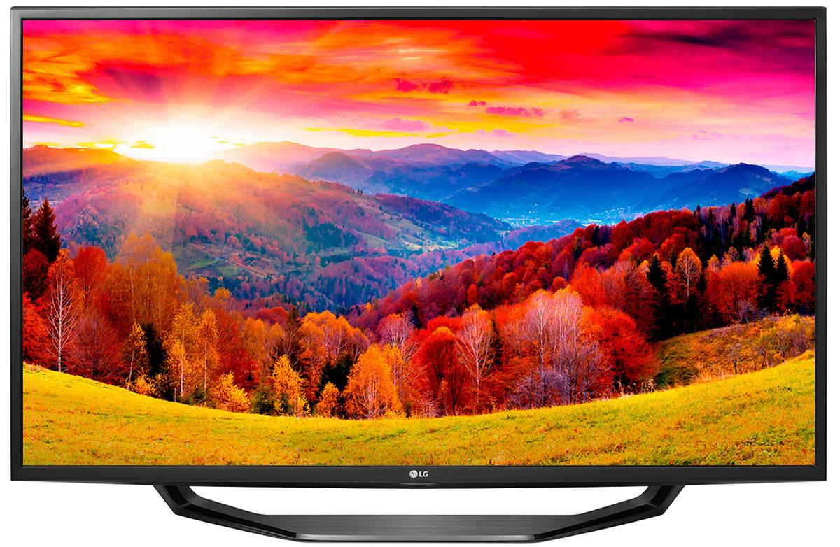 LG 49LH590V телевизор49LH590VСовременный телевизор LG 49LH590V для всей семьи. Металлический дизайн: Оцените обновлённый дизайн корпуса телевизора с металлическими элементами. Triple XD процессор: Новый графический процессор отвечает за качество цветопередачи, уровень контрастности и чёткость изображения. Picture Wizard III: Система точной настройки Picture Wizard III позволяет вам быстро отрегулировать глубину чёрного, цветовую гамму, чёткость изображения и уровень яркости. Virtual Surround Plus: Испытайте эффект объёмного звучания с алгоритмом кинотеатрального распределения звуковой волны. Clear Voice III: Автоматическая система подавления шумов и усиления звучания голоса направлена на отделение основных звуков от фона, что помогает чётко слышать речь актёров и телеведущих. webOS 3.0: Обновлённая операционная система LG SMART TV на базе webOS 3.0 создана для того, чтобы доступ к фильмам, сериалам,...