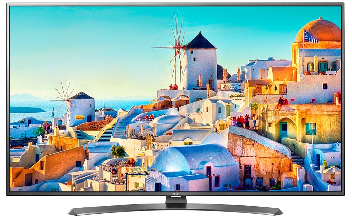 LG 55UH671V телевизор55UH671VСовременный телевизор LG 55UH671V для всей семьи. HDR Pro: Функция HDR Pro позволяет увидеть фильмы с теми яркостью, богатейшей палитрой и точностью цветовых оттенков, с какими они были сняты. ColorPrime Pro: Яркие и сочные, натуральные оттенки теперь могут быть отображены благодаря расширенному цветовому спектру дисплея UHD телевизоров LG. Широкий угол обзора: IPS 4K экран UHD телевизора LG всегда покажет вам идентичные цвета вне зависимости от того из какой части комнаты вы будете его смотреть. УЛЬТРА Яркость: Схема строения панели и внутренней подсветки в UHD телевизоре LG позволяет свести к минимуму появление ореолов на границе ярких и тёмных объектов, что способствует наилучшему восприятию контрастных сцен. Трёхмерная обработка цвета: В UHD телевизоре LG используется трёхмерный алгоритм обработки цвета, что позволяет минимизировать искажения и добиться оттенков, максимально...