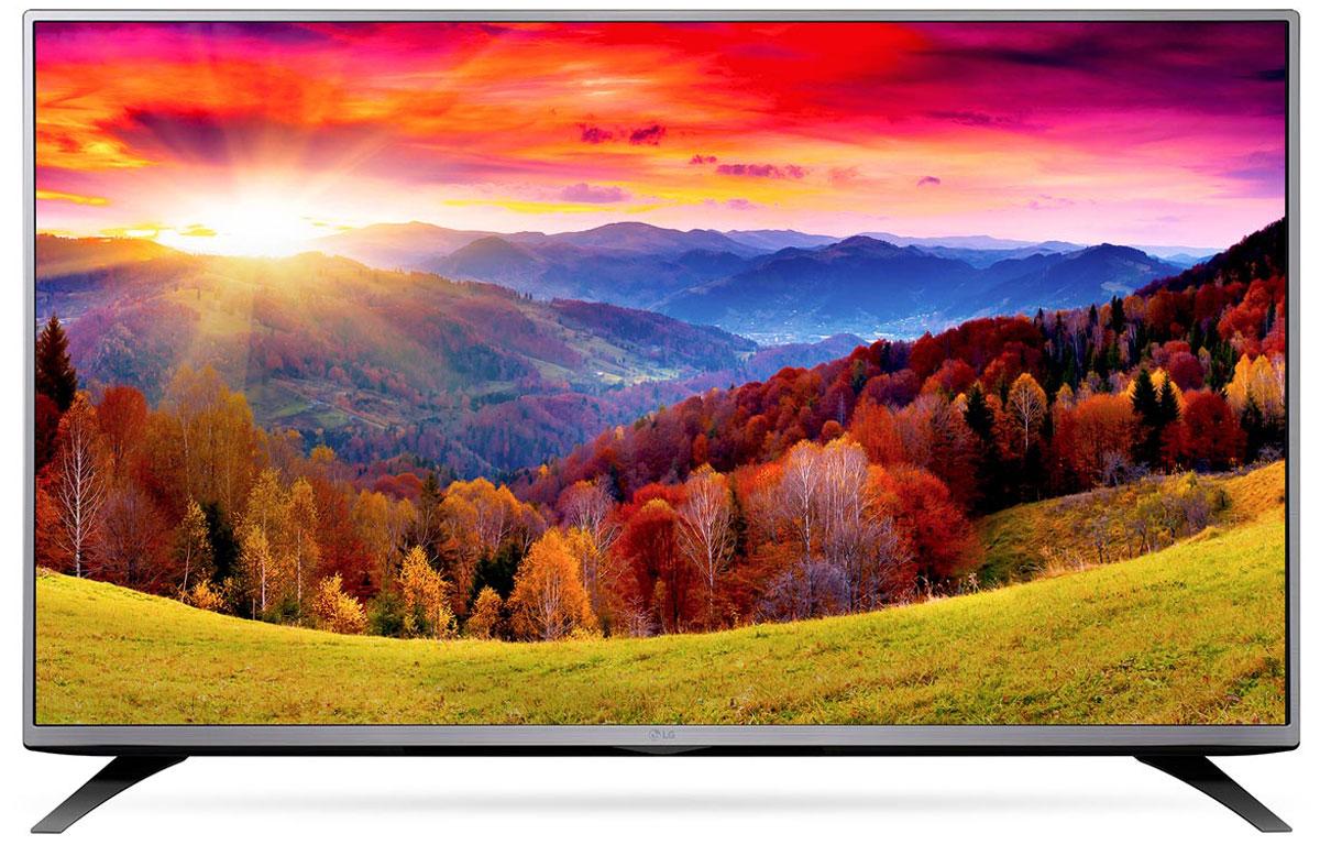 LG 43LH543V телевизор43LH543VСовременный телевизор LG 43LH543V для всей семьи. Металлический дизайн: Оцените обновлённый дизайн корпуса телевизора с металлическими элементами. Triple XD процессор: Новый графический процессор отвечает за качество цветопередачи, уровень контрастности и чёткость изображения. Встроенные игры: Бесплатно наслаждайтесь встроенными играми с LG GAME TV. Picture Wizard III: Система точной настройки Picture Wizard III позволяет вам быстро отрегулировать глубину чёрного, цветовую гамму, чёткость изображения и уровень яркости. Virtual Surround: Испытайте эффект объёмного звучания с алгоритмом кинотеатрального распределения звуковой волны. Clear Voice: Автоматическая система подавления шумов и усиления звучания голоса направлена на отделение основных звуков от фона, что помогает чётко слышать речь актёров и телеведущих.