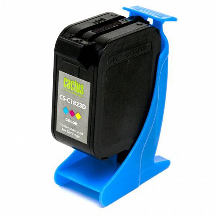 Cactus CS-C1823D №23, Cyan Magenta Yellow картридж струйный для HP DJ 712c/720c/722c/810/812c/815c/830C/832CCS-C1823DКартридж Cactus CS-C1823D №23 для струйных принтеров HP DJ 712c/720c/722c/810/812c/815c/830C/832C. Расходные материалы Cactus для печати максимизируют характеристики принтера. Обеспечивают повышенную четкость изображения и плавность переходов оттенков и полутонов, позволяют отображать мельчайшие детали изображения. Обеспечивают надежное качество печати.