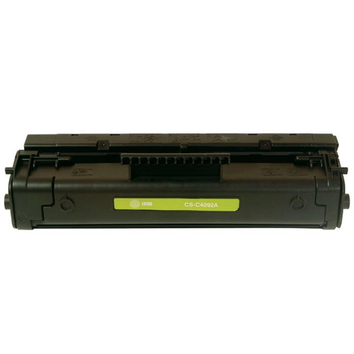 Cactus CS-C4092A, Black тонер-картридж для HP LJ 1100/3200/3220CS-C4092AКартридж Cactus CS-C4092A для лазерных принтеров HP LJ 1100/3200/3220. Расходные материалы Cactus для лазерной печати максимизируют характеристики принтера. Обеспечивают повышенную чёткость чёрного текста и плавность переходов оттенков серого цвета и полутонов, позволяют отображать мельчайшие детали изображения. Обеспечивают надежное качество печати.
