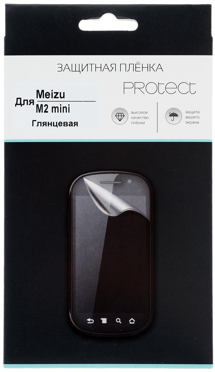 Protect защитная пленка для Meizu M2 mini, глянцевая24815Защитная пленка Protect предохранит дисплей Meizu M2 mini от пыли, царапин, потертостей и сколов. Пленка обладает повышенной стойкостью к механическим воздействиям, оставаясь при этом полностью прозрачной. Она практически незаметна на экране гаджета и сохраняет все характеристики цветопередачи и чувствительности сенсора.