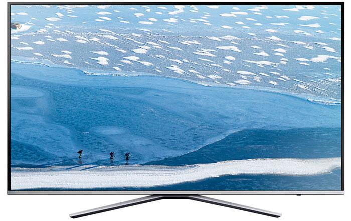 Samsung UE55KU6400UX телевизорUE55KU6400UXRUСтильный дизайн телевизора Samsung UE55KU6400UX делает его подходящим для любого интерьера. Тонкая металлическая рамка выглядит невесомой, а крестовая подставка надежно удерживает телевизор с большим экраном. Технология HDR Premium увеличивает яркость светлых участков и детализацию изображения. Почувствовать себя в кинотеатре легко! С технологией Samsung Active Crystal colour картинка наполнена естественными оттенками – поверить в реальность происходящего на экране еще проще. Разрешение экрана Ultra HD в 4 раза превышает Full HD и гарантирует более высокую детализацию и четкость. Технология UHD Dimming оптимизирует контрастность по всей поверхности экрана, локально затемняя отдельные участки изображения и улучшая цветопередачу. Ultra Clean View превращает стандартное изображение в более качественное. Функция проводит анализ входящего сигнала и уменьшает уровень шума. Samsung Smart View – это легкий способ...