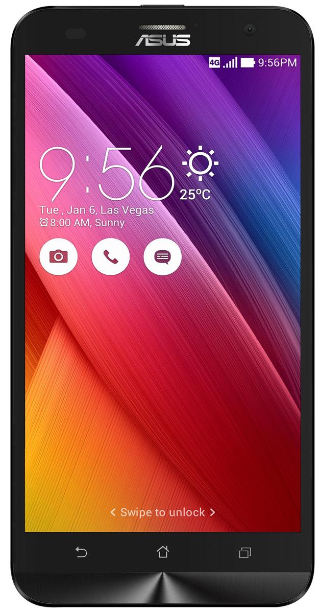 ASUS ZenFone 2 Laser ZE550KL 32GB, Black90AZ00L1-M02710ZenFone 2 Laser (ZE550KL) – это новый смартфон Asus, обладающий красивым и невероятно тонким корпусом с продуманной эргономикой. Смартфон ZenFone 2 Laser (ZE550KL) выполнен в изящном корпусе, толщина боковых граней которого составляет всего 3,5 мм. Обладая эргономичной формой, он украшен традиционным для мобильных устройств Asus узором из концентрических окружностей с углублениями размером 0,13 мм. Оригинальным и весьма удобным решением в его дизайне является расположенная на задней панели корпуса кнопка, с помощью которой можно делать фотоснимки, изменять громкость звука и т.д. Дополнительной компактности корпуса ZenFone 2 Laser (ZE550KL) удалось добиться за счет уменьшения толщины экранной рамки. Отношение размера экрана к размеру передней панели составляет целых 70%! За высокую скорость работы ZenFone 2 Laser (ZE550KL) в различных приложениях отвечает современный процессор Qualcomm, а поддержка LTE означает обмен данными в мобильных...