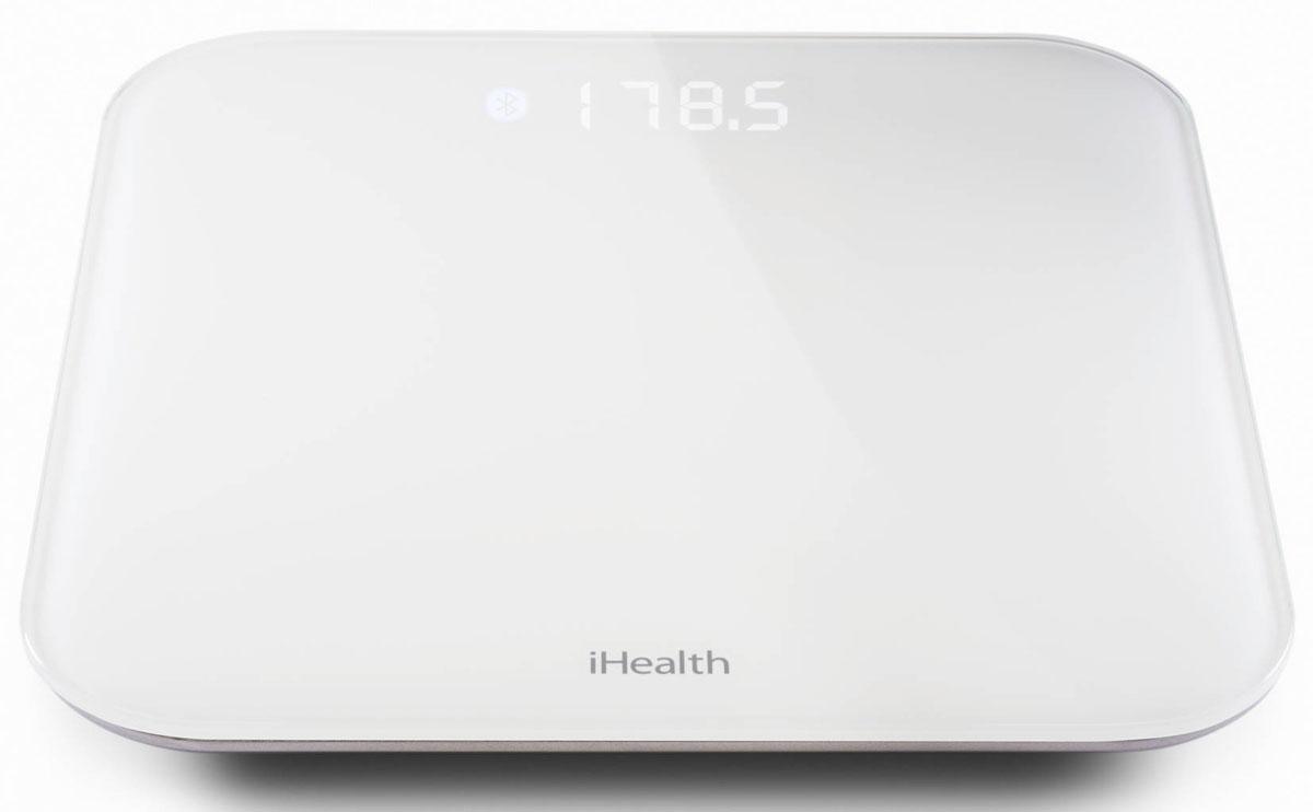 iHealth Lite напольные весыHS4SУмные весы iHealth Lite автоматически передают статистику взвешиваний в приложение iHealth MyVitals. Возможности программы позволяют проследить изменения веса в динамике, проанализировать статистику, рассчитать индекс массы тела. Весы iHealth Lite выполнены в классической квадратной форме. Длина ребра измерительной платформы 35 см, а толщина чуть больше 2 см. Весят умные весы iHealth Lite 2,5 килограмма. Диапазон измерения iHealth Lite от 5 до 182 кг. Результаты измерений, отображаемые на цифровом экране, легко читаются при любом освещении. Оригинальная задняя подсветка снабжена модулем автоматической регулировки яркости, меняющейся в зависимости от освещенности помещения. Электронные весы сопрягаются с мобильными телефонами или планшетами по беспроводному протоколу связи Bluetooth 4.0. В персональном кабинете пользователю доступна подробная информация о весе, индекс массы тела. Каждый член семьи может выставлять собственную цель и контролировать...