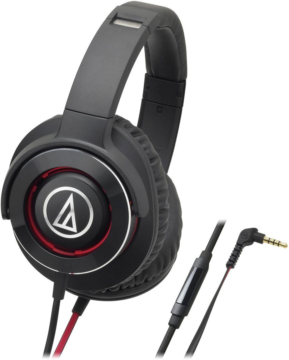 Audio-Technica ATH-WS770iS, Black Red наушники10102358Полноразмерная гарнитура, обеспечивает впечатляющие басы наряду с плавной и точной передачей звука на средних и высоких частотах. Наушники разработаны специально для тех, кто хочет слушать музыку с мощным саундом, актуальным для хард-рока, металла, хип-хопа, «электроники» и подобных стилей. ATH-WS770iS оснащены встроенным микрофоном и пультом управления громкостью, а также воспроизведением и перемоткой треков, проигрываемых с Apple- или Android-гаджетов. Пульт также позволяет принимать звонки. 53-мм драйверы обеспечивают превосходное звучание Тройная система вентиляции оптимизирует воздушные колебания внутри корпуса Алюминиевый корпус гасит нежелательные вибрации Пульт на шнуре позволяет управлять устройствами на платформе Apple и Android Поворотные чаши Цвет черный с красным